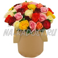 Цветы в коробке №4MULTI