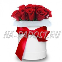 Цветы в коробке №3BORDO