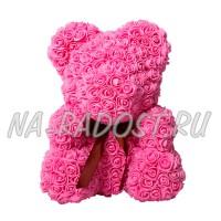 Мишка из роз 3D