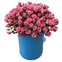 Цветы в коробке №4ROSA