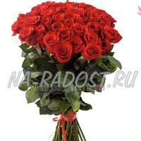45 красных роз