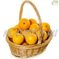 Корзина с апельсинами