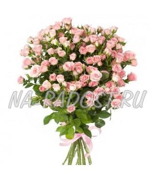 Розы кустовые поштучно