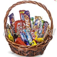 """Корзина подарков """"Шоколадный рай"""""""