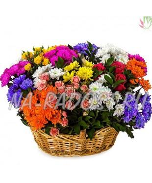 """Букет хризантем кустовых """"В мире цветов"""""""