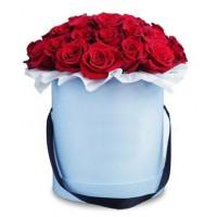 Цветы в коробке №1RED